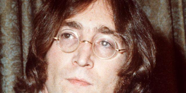 John Lennon.  AP-PHOTO / TT NYHETSBYRÅN
