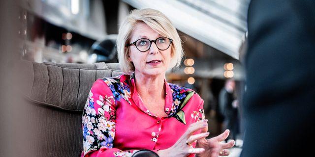 Elisabeth Svantesson. Arkivbild. Tomas Oneborg/SvD/TT / TT NYHETSBYRÅN