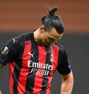 Zlatan Ibrahimovic brände straff i första halvlek. DANIELE MASCOLO / BILDBYRÅN