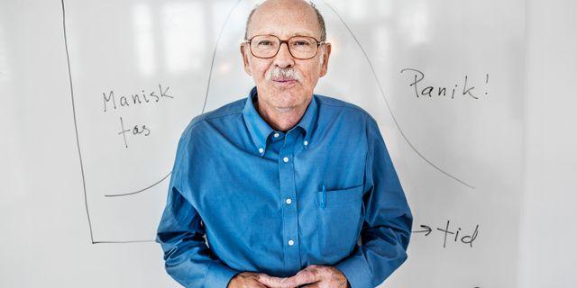 Lars Jonung är professor emeritus vid Ekonomihögskolan i Lund. Han har också varit forskningsrådgivare och utvärderat effekterna av en pandemi på EU:s ekonomi. Tomas Oneborg/SvD/TT / TT NYHETSBYRÅN