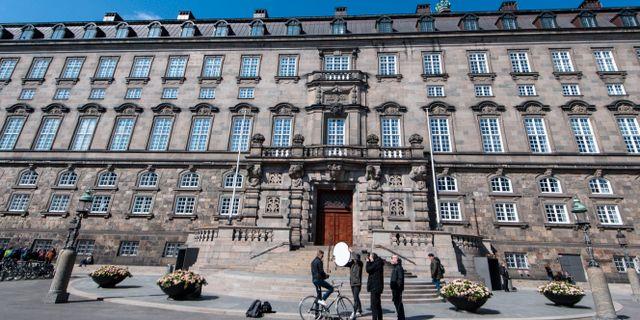 Folketinget.  Johan Nilsson/TT / TT NYHETSBYRÅN