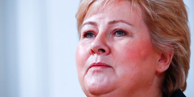 Norges statsminister Erna Solberg  Pedersen, Terje / TT NYHETSBYRÅN