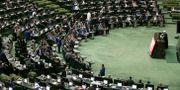 Illustrationsbild. Rouhani håller tal till Irans parlament.  Ebrahim Noroozi / TT NYHETSBYRÅN