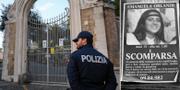 Byggnaden där benresterna hittades/En efterlysning av Emanuela Orlandi. TT