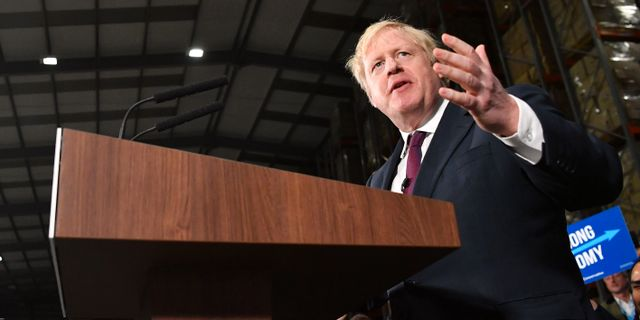 Boris Johnson. BEN STANSALL / AFP