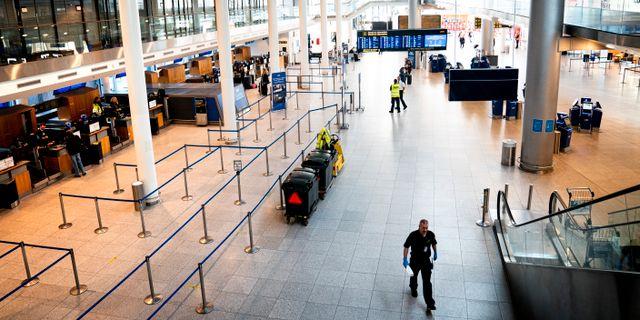Kastrups flygplats.  Ida Guldbæk Arentsen / TT NYHETSBYRÅN