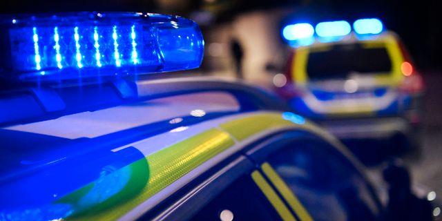 Sex anhallna efter stor polisinsats