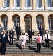 G7-gruppen i London.  Henry Nicholls / TT NYHETSBYRÅN