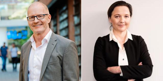 TRR:s vd Lennart Hedström och TSL:s vd Caroline Söder. Pressbilder