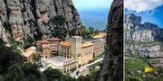 Klostret Santa Maria de Montserrat utanför Barcelona är en dagsutflykt som känns i magen. Wikicommons