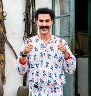 """Sacha Baron Cohen som Borat i filmen """"Borat subsequent moviefilm"""". TT NYHETSBYRÅN"""
