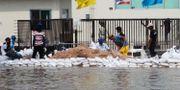 Översvämning i Chonburi, östra Thailand/arkivbild.  Apichart Weerawong / TT NYHETSBYRÅN