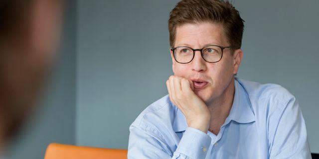 Fredrik Strömholm är Partner i Impilo. Foto: Patrick Degerman.