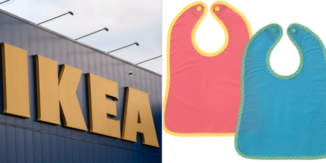Haklappen Matvrå.  TT/Ikea