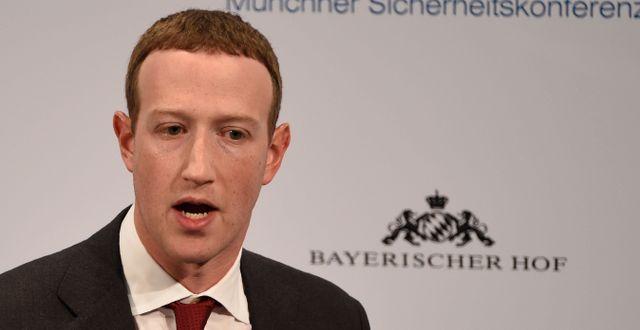 Mark Zuckerberg. Jens Meyer / TT NYHETSBYRÅN