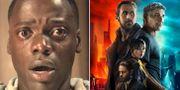 Bilder ur filmerna Get Out och Blade Runner 2049.  Universal Pictures/Warner Bros