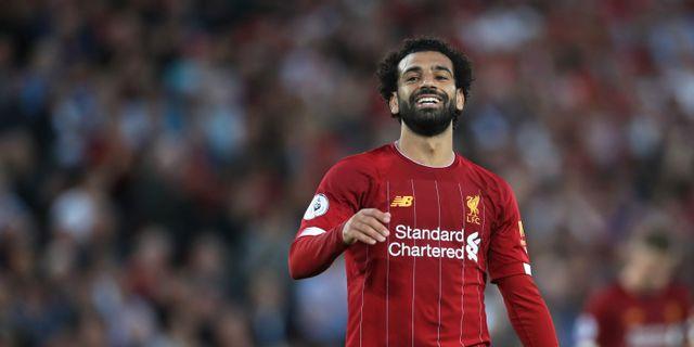 Liverpools Mohamed Salah. CARL RECINE / BILDBYRÅN