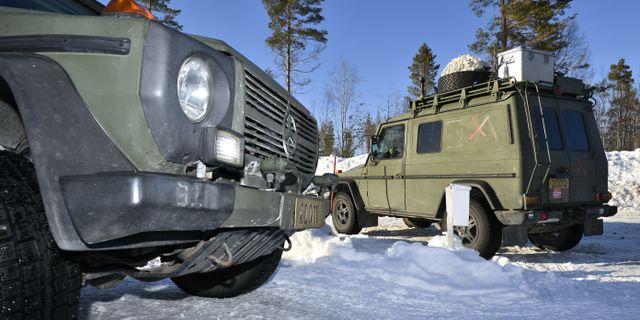 Arméövningen Northern Wind i östra Norrbotten pågår just nu. Arkivbild. Naina Helen Jåma / TT NYHETSBYRÅN