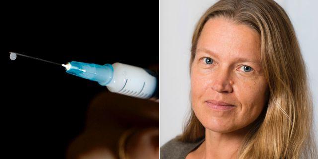 Tiia Lepp, epidemiolog vid Folkhälsomyndigheten. TT / Lena Katarina Johansson
