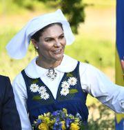 Kronprinsessan Victoria. Claudio Bresciani/TT / TT NYHETSBYRÅN