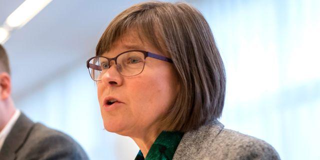 Karin Pleijel, Miljöpartiets gruppledare i Göteborg.  Thomas Johansson/TT / TT NYHETSBYRÅN