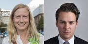 Katarina Luhr och Lorentz Tovatt TT