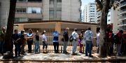 Brödkö i Venezuelas huvudstad Caracas i mars 2018 Ariana Cubillos / TT NYHETSBYRÅN/ NTB Scanpix