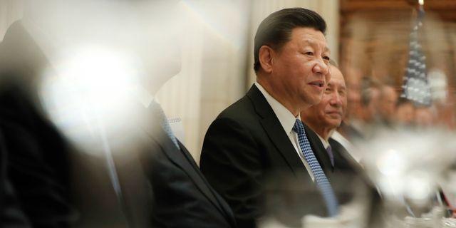 Xi Jinping.  Pablo Martinez Monsivais / TT NYHETSBYRÅN/ NTB Scanpix
