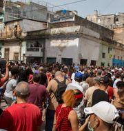 Havanna på söndagen Ismael Francisco / TT NYHETSBYRÅN