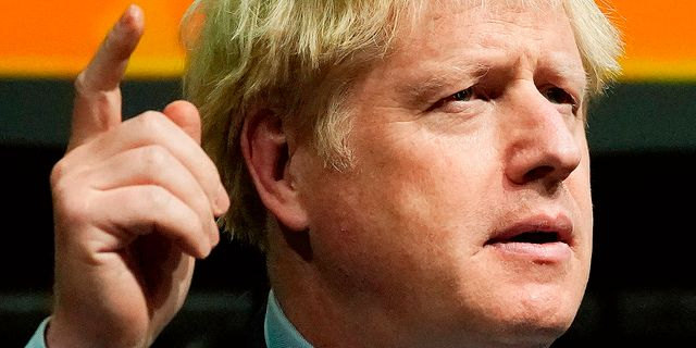 Boris Johnson. CHRISTOPHER FURLONG / POOL