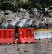 Bild från Jakarta.  Tatan Syuflana / TT NYHETSBYRÅN