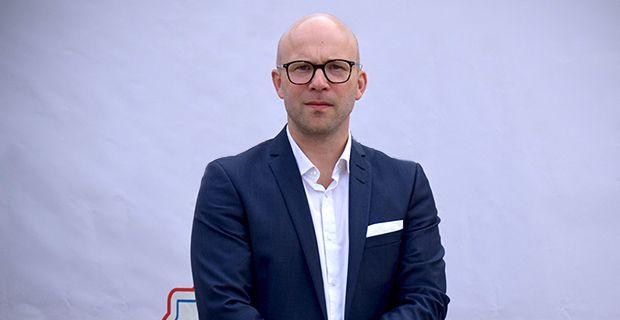 Petter Strömberg, vd för företaget XQS. Foto: Heidi Andersson