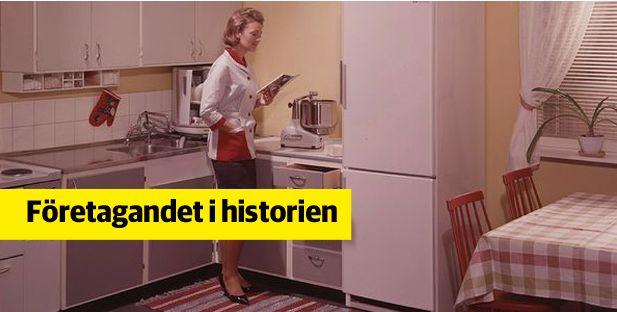 Electrolux historiska arkiv hos Centrum för Näringslivshistoria.