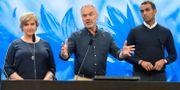 Liberalernas Karin Karlsbro, partiledare Jan Björklund (L), och Said Abdu (L). Arkivbild. Henrik Montgomery/TT / TT NYHETSBYRÅN