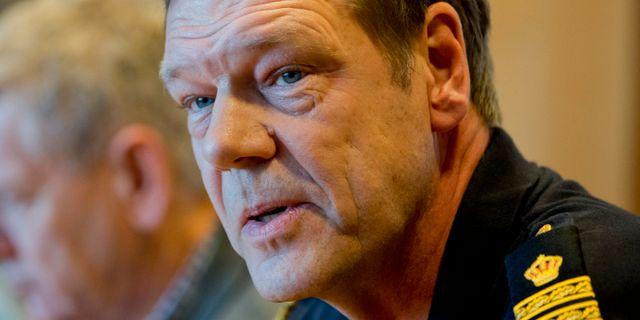 Håkan Frank vid polisen i Göteborg. Arkivbild. ADAM IHSE / TT / TT NYHETSBYRÅN