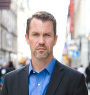 Per Geijer, säkerhetschef på Svensk Handel. Bjorn Mattisson