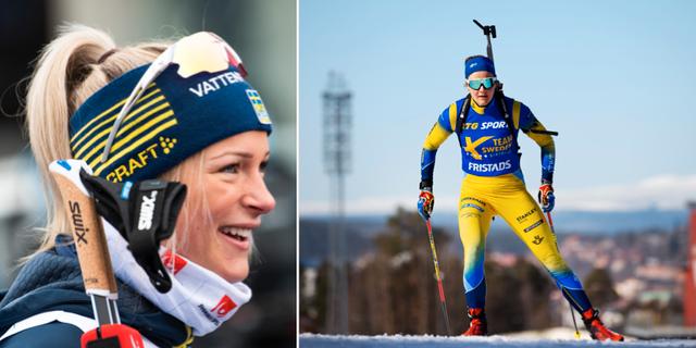 Frida Karlsson och Stina Nilsson.  Bildbyrån.