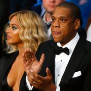Arkivbild: Beyoncé och Jay-Z.  AL BELLO / GETTY IMAGES NORTH AMERICA