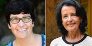 Helle Klein och Anne Ramberg är två av de debattörer som utsattes.  TT