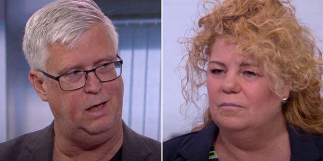 Tommy Wreeth och Lise-Lotte Argulander. SVT