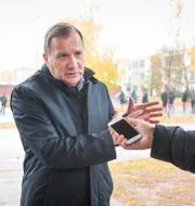 Löfven i Borlänge Fredrik Sandberg/TT / TT NYHETSBYRÅN