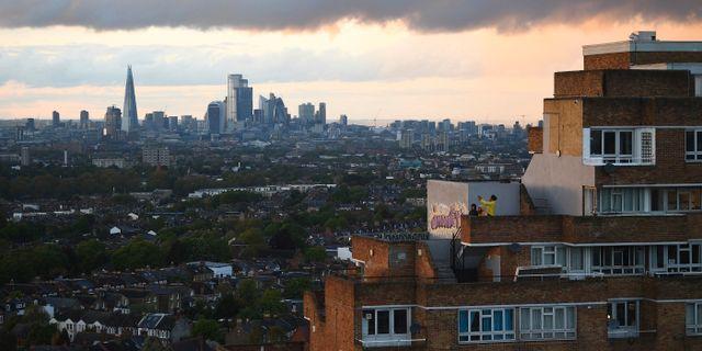 Sydöstra London. Arkivbild. Victoria Jones / TT NYHETSBYRÅN