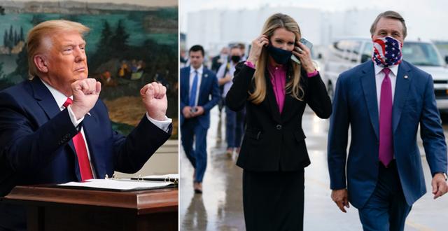 Donald Trump / Kelly Loeffler och David Perdue TT