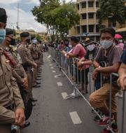 Demonstration i Bangkok, Thailand.  TT
