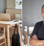 Anna, företagsinredare på IKEA och ansvarig för planering och implementering av matsal och rum på Moment Hotels i Malmö.