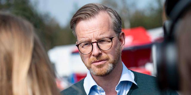 Inrikesminister Mikael Damberg (S). Johan Nilsson/TT / TT NYHETSBYRÅN