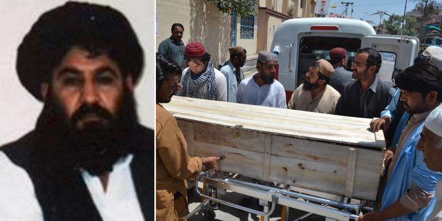 Talibanernas ledare hotar att utplana usa