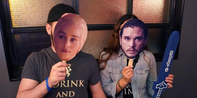 Game of thrones-fans. Arkivbild. TIMOTHY A. CLARY / AFP