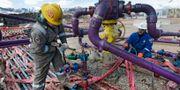 Arkivbild: Oljearbetare i västra Colorado, USA. Brennan Linsley / TT / NTB Scanpix