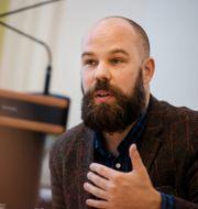 Daniel Suhonen, chef för Katalys. Vilhelm Stokstad/TT / TT NYHETSBYRÅN